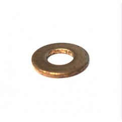 flat washer  .172x .375x .036 brass