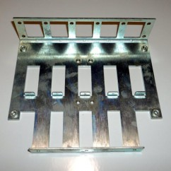 CAPCOM 5 BANK DROP TARGET METAL PLATE