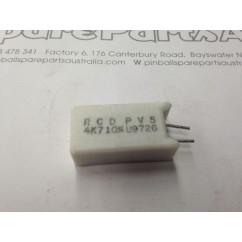 Resistor 4.7k ohm 5w 10% vertical