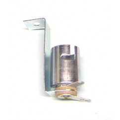 bayonet base 2 lead socket with long mounting bracket
