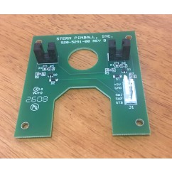 Stern BATMAN pinball machine disc reveal opto board