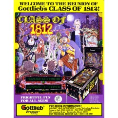 Class Of 1812  rubber kit - White