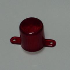 Plastic Light Dome (Screw Tab) - RED  03-8149-9
