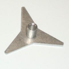 CAPCOM 3 POINT PLAYFIELD SPINNER-RD