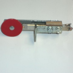 stand up target round front mount red