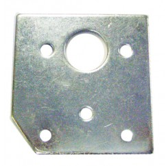 ball shooter plunger housing mounting plate