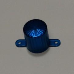 Plastic Light Dome (Screw Tab) - Blue