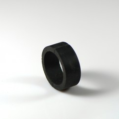 "1"" Mini BLACK Flipper Rubber"