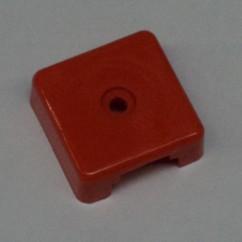 Target face - 3D square op orange