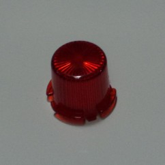 Plastic Light Dome Amber - Twist On 03-8171-8