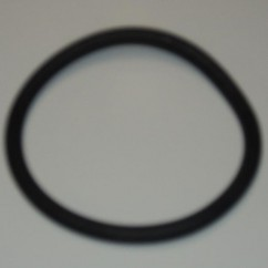 "2-1/2"" Black Rubber Ring"