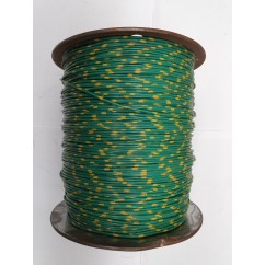 Wire 18 g Green and Yellow