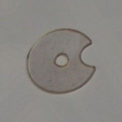 CIRQUS VOLTAIRE clear plastic