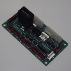 coin door interface pcb assembly