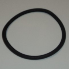 "3-1/2"" Black Rubber Ring"