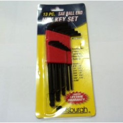 SAE Hex Key Set - 13 Pieces