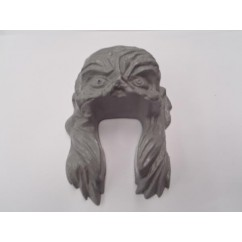 Plastic Head , moulded grey