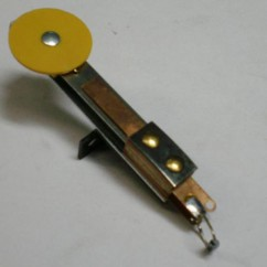 Target - Round Stand Up Rear Mounting Yellow A-14690-6