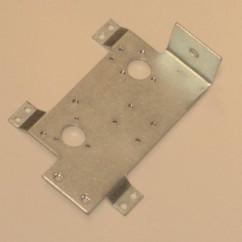 flipper plate bracket left