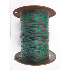Wire 22 g  Green and Red