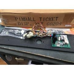 Pinball Ticket Dispenser Kit 60204