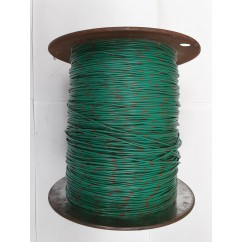 Wire 22 g  Green and Brown