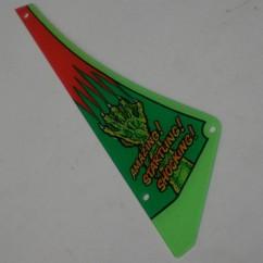 MONSTER BASH playfield plastic