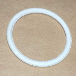 "2-1/2"" White Rubber Ring"