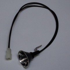 906 reflector flash lamp with cable