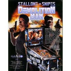 Demolition Man IN BLACK