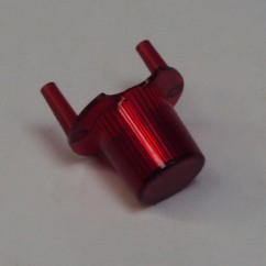 dome jet bumper transparent red