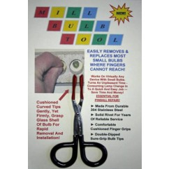 Mill Bulb Tool Stainless Steel Scissors-Action Bulb Changer