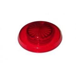 Pop bumper cap starburst RED