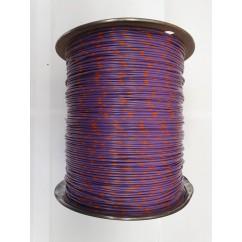 Wire 18 g  Purple and Orange