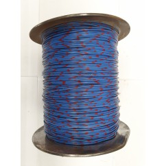 Wire 22 g  Blue and Red