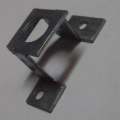 midway arcade machine gun pinion mounting bracket