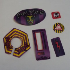 Circus Voltaire Decal Set (6 pieces)