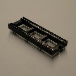 IC Socket - 40 Pins