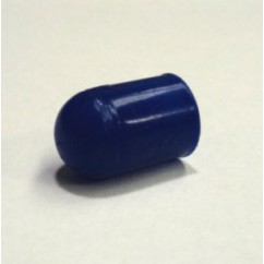 Silicone Bulb Cap  condom BLUE