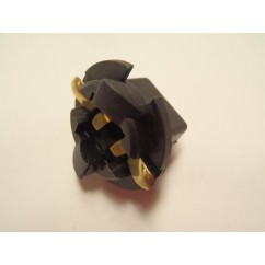 Lamp socket - twist wedge large for #906