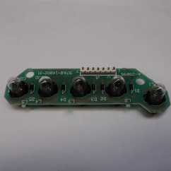 5 lamp pcb assembly NO LAMP