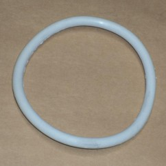 "2-3/4"" White Rubber Ring"
