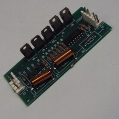 high current driver circuit board assembly