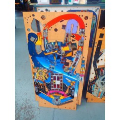 Twilight zone play field with mini playfield