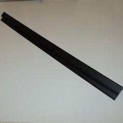 Wide Body Playfield Glass Rear Plastic Channel