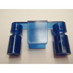 Mini Hood  lane guide - Blue 550-5061-05