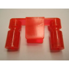Mini Hood  lane guide - Flo Orange  550-5061-10
