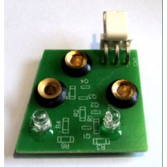 Dual Opto Rec Assy incl grommets/spcrs