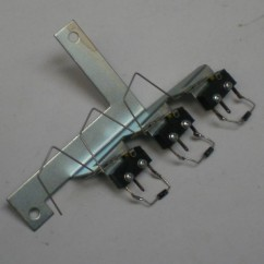 3 switch & bracket assy