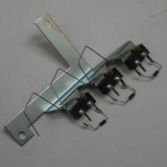 3 switch & bracket assy